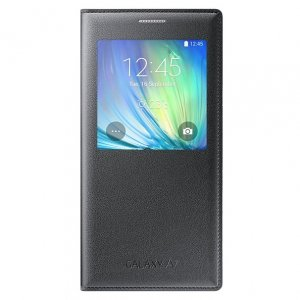 GENUINE ORIGINAL SAMSUNG S VIEW S-VIEW FLIP FOLIO COVER FOR GALAXY A7