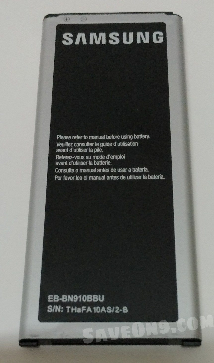 ORIGINAL SAMSUNG BATTERY FOR GALAXY NOTE 4 (With NFC)